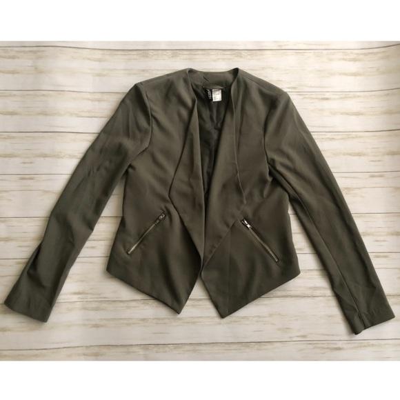 H&M Jackets & Blazers - H&M Open Front Blazer